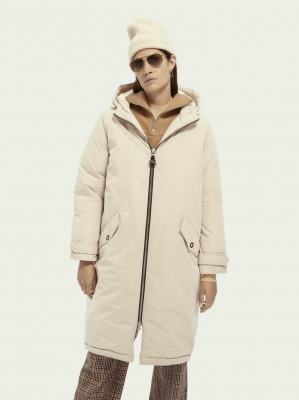 dámská oversized parka SCOTCH & SODA