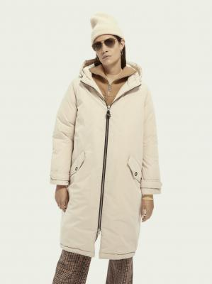 dámská oversized parka SCOTCH & SODA S
